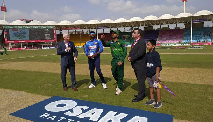 Sri Lanka win toss, elect to bat first against Pakistan