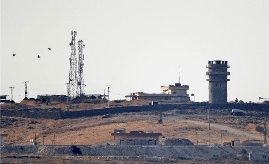 Syrian troops Turkey Turkish forces Kurdish forces
