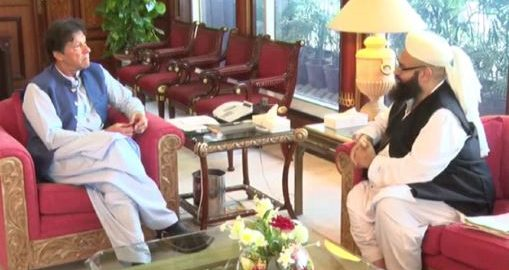 Tahir Ashrafi PM Prime MInister Imran Khan Imran Khan PM Khan 22nd prime minister of pakistan demise mother