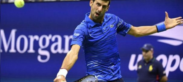 Djokovic, cruises, second, round, Japan Open