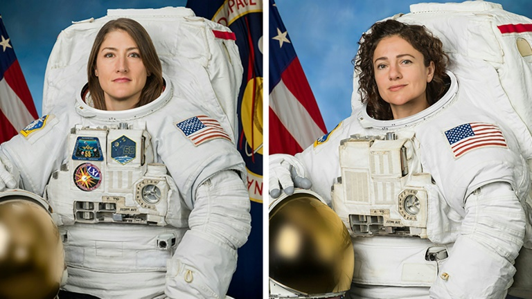 US, makes, history, all-female, spacewalk