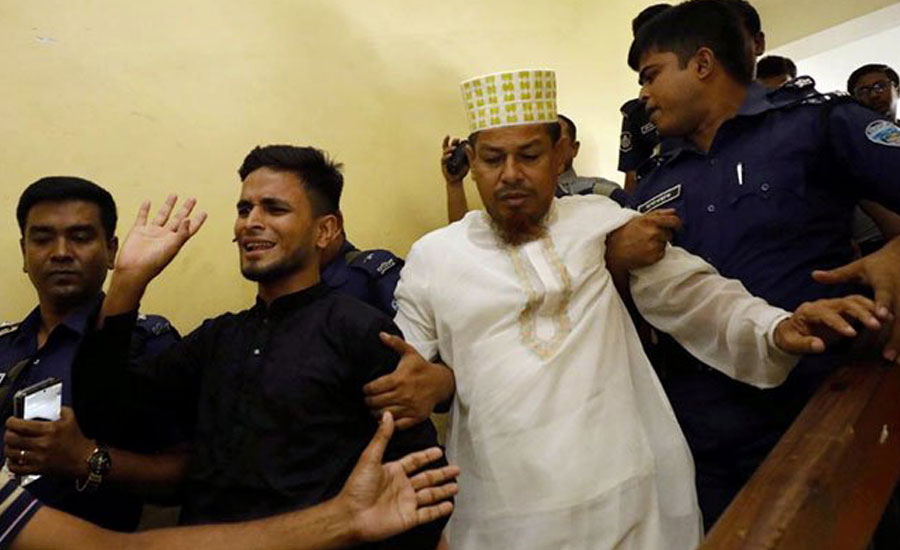 Bangladesh sentences 16 to death for burning teen girl alive