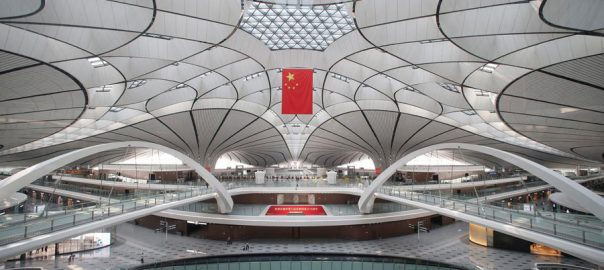 Beijing's ,$63 billion ,Daxing airport ,international flights ,operations ,pressure