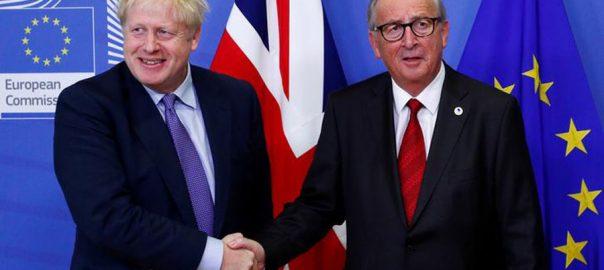 Britain، Brexit، deal ، EU ، Britons ، referendum ، leave , bloc, , Prime Minister , Boris Johnson