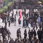 Chehlum , Karbala , martyrs , observed , tight, security