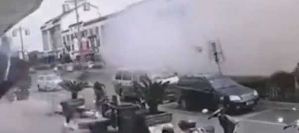 gas explosion China