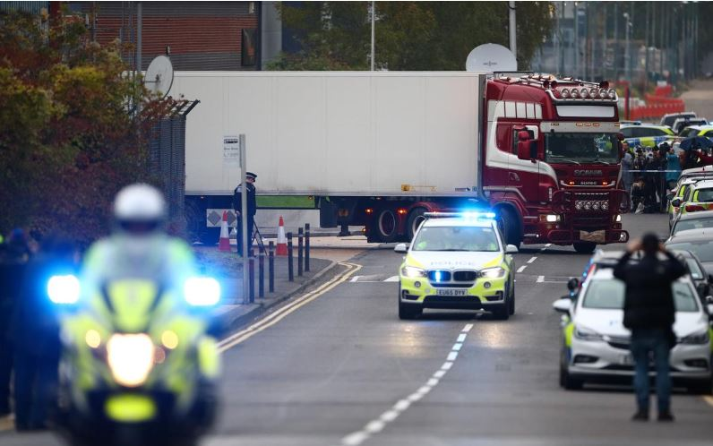 Victims found dead in truck in UK were Chinese: ITV News