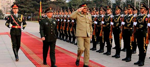 Kashmir issue, COAS army chief PLA Chinese Military leadership Pak-India tension ISPR Gulf COA Gen bajwa