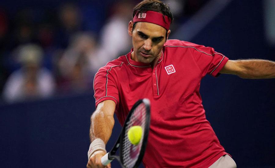 Federer cruises past Ramos-Vinolas in Shanghai