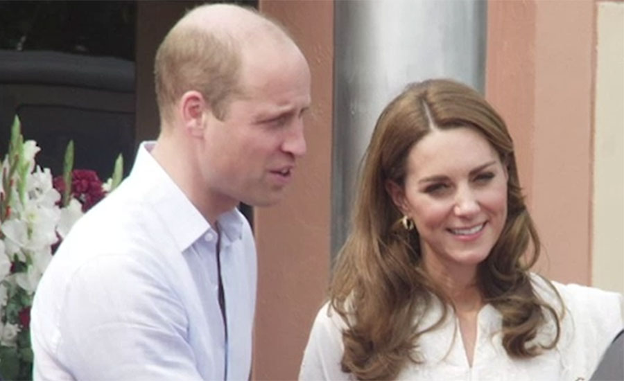 Prince William ,Kate ,spend ,busy day ,Lahore