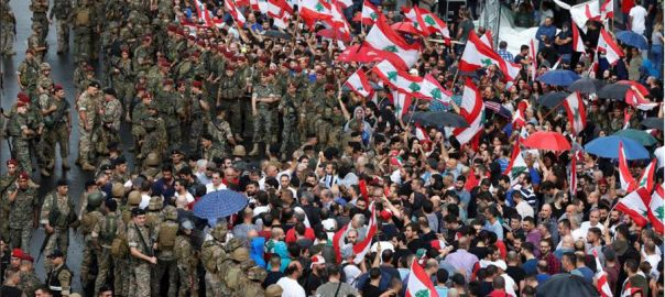 Facing, protests, Lebanese, leaders, mull, reshuffle