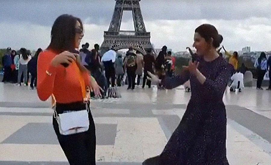 Paris Fashion week Pakistan's undisputed fashion and beauty camila cabello US singer Mahira Khan Daniella Rahme