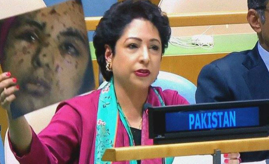Pakistan permanent representative UN Human rights violation inquiry commission Indian Occupied Kashmir IoK