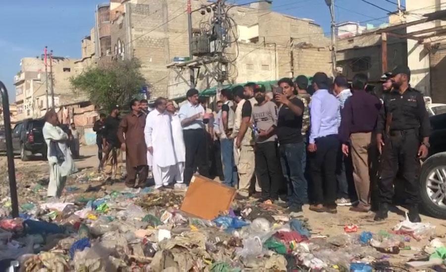 Sindh Cm Sindh Chief Minister Murad ali shah Cleanliness drive arbage situaion Karachi