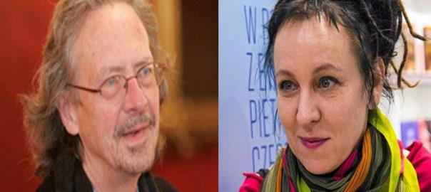 Austrian, Handke, Pole, Tokarczuk, win, Nobel, prizes, literature