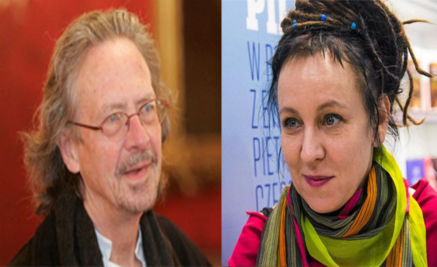 Austrian Handke and Pole Tokarczuk win Nobel prizes for literature