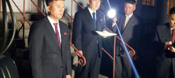 STOCKHOLM ,North Korea, top, negotiator ,nuclear talks in Sweden ,,Pyongyang ,Washington ,prospects