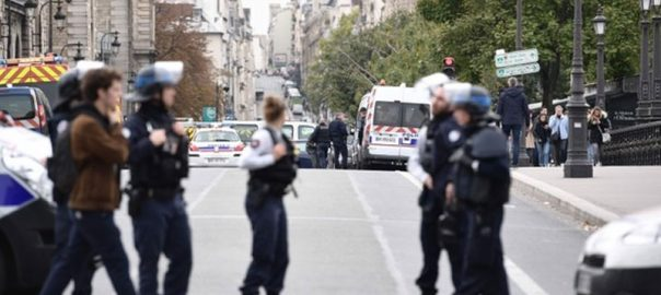 Paris Police station police attack four officers killed