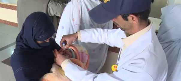 Ninth, polio, case, detected, Sindh