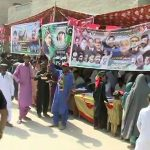 Polling, ends, by-election , PS-11 Larkana-II