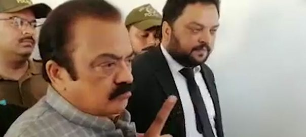 Rana Sanaullah PML-N Leader Pakistan Muslim League-N bail plea