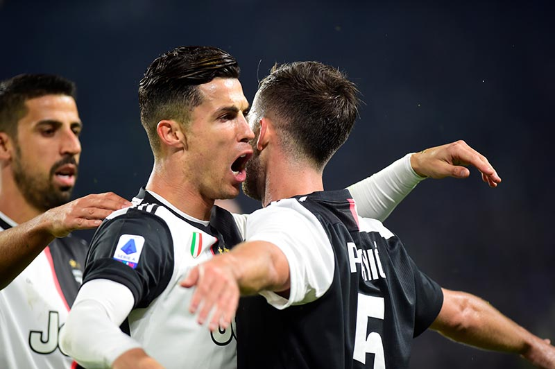 Ronaldo strikes as Juventus extend Serie A lead