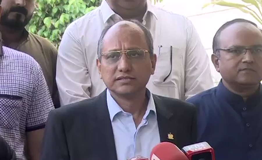 PPP leader Saeed Ghani terms NAB a tool of government