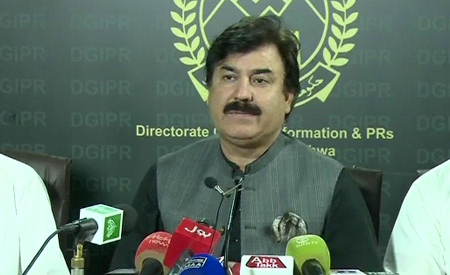 Maulana Fazl Maulana Fazlur rehman KP minister Shaukat Yousafzai information minister Maulana Fazlur Rehman wants a ministry: KP minister