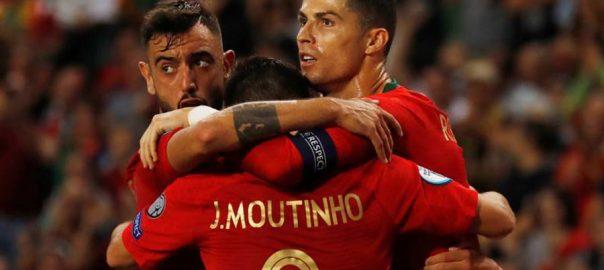 LISBON , European champions , Portugal ,Ukraine ,wins ,Group B.