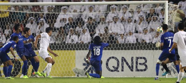 Al Hilal, 10-man, Al Sadd, close, Asian, final