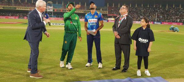 Sri Lanka, toss, elect, bat, Pakistan, third T20I