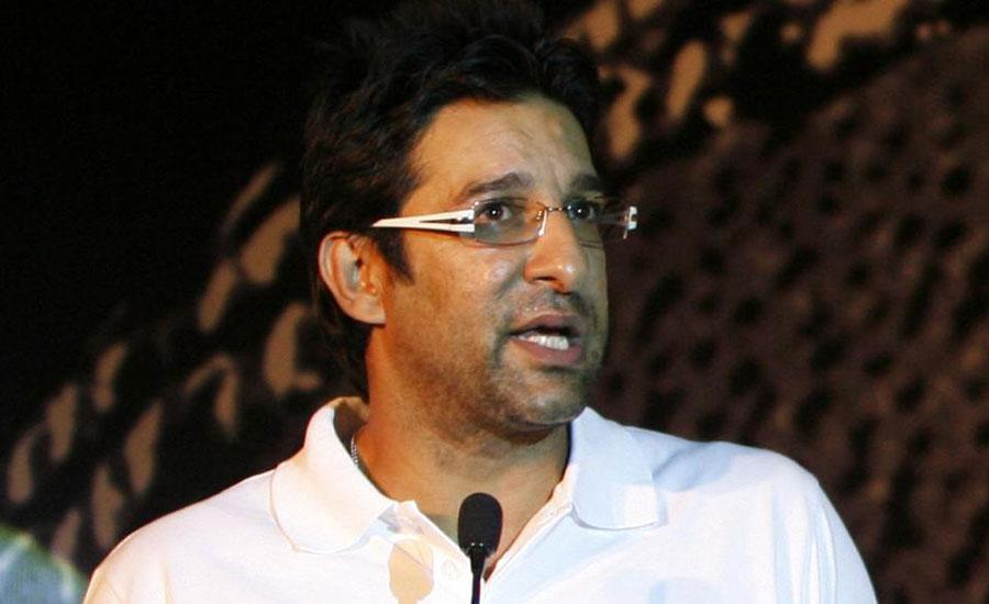 Wasim Akram announced as polio ambassador