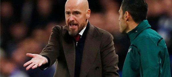 Ajax victory refereeing Ten Hag