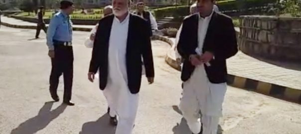 IHC Akram Durrani National Accountbaility Bureau NAB interim bail assets beyond income sit-in JUI-F leader Jamiat Ulmae-i-Islam-F