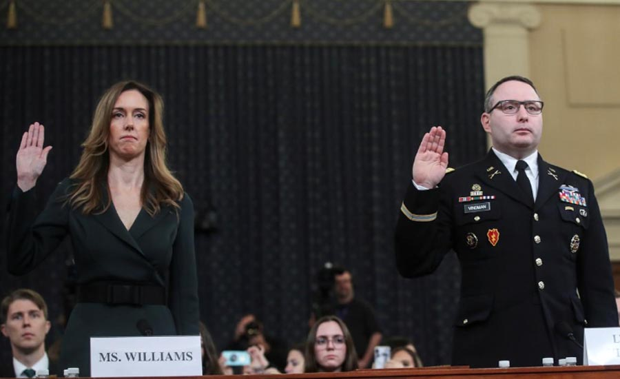Top White House Ukraine expert says Trump request for Biden probe was improper