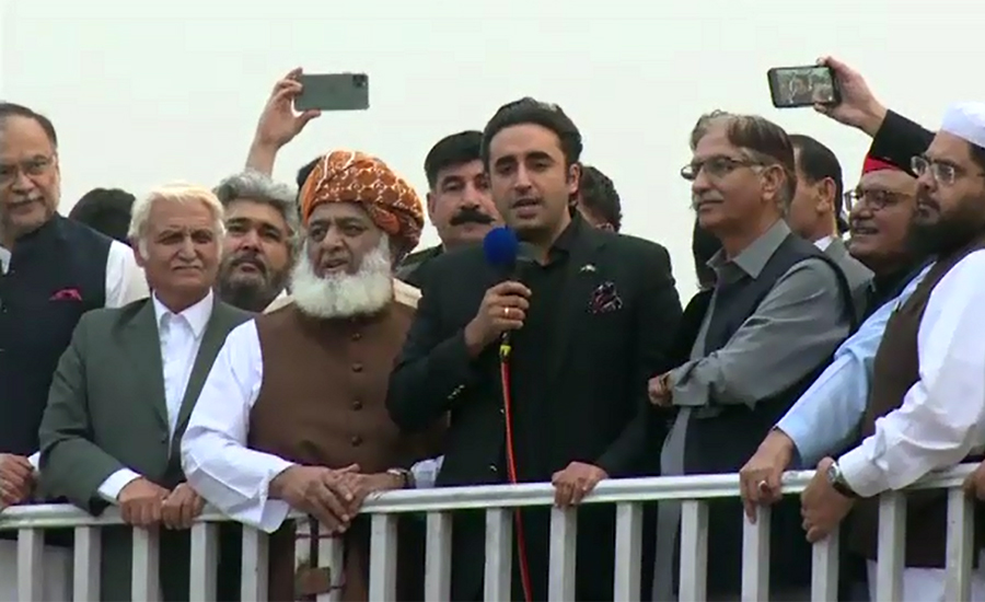 Masses do not accept 'puppet' system, will oust 'selected' PM: Bilawal