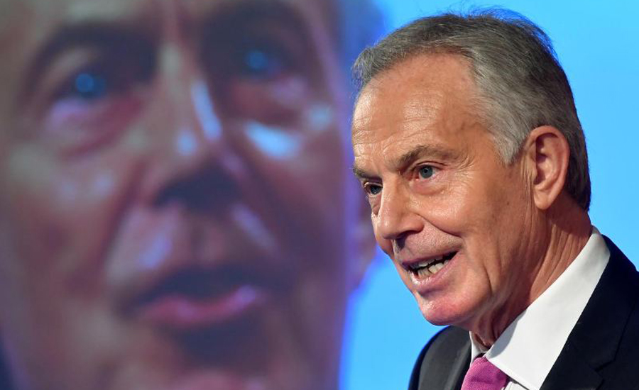 Britain is a dangerous mess, says former PM Blair