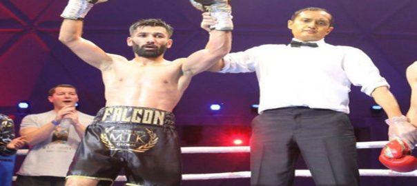 Pakistani boxer Muhammad wasemm flyweight champion Ganigan Lopez Dubai