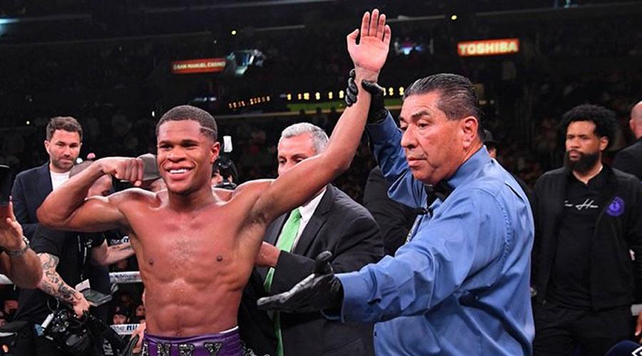 WBC lightweight Unbeaten Devin Haney