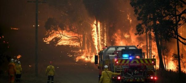 bushfire schools Australia Australia south looms threat high risk zone