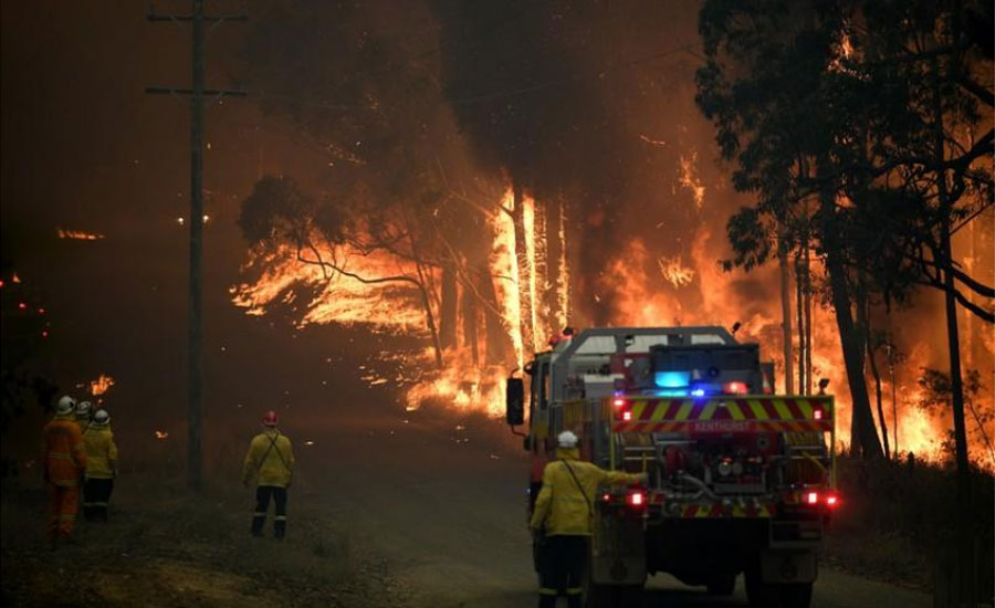 bushfire schools Australia Australia south looms threat high risk zone