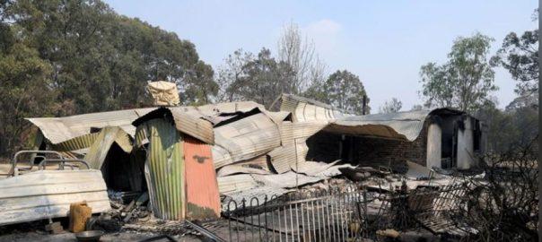Bushfires east west Bushfires conditions Australian