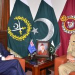 Australian high commissioner bilateral cooperation Chief of Army Staff COAS regional security