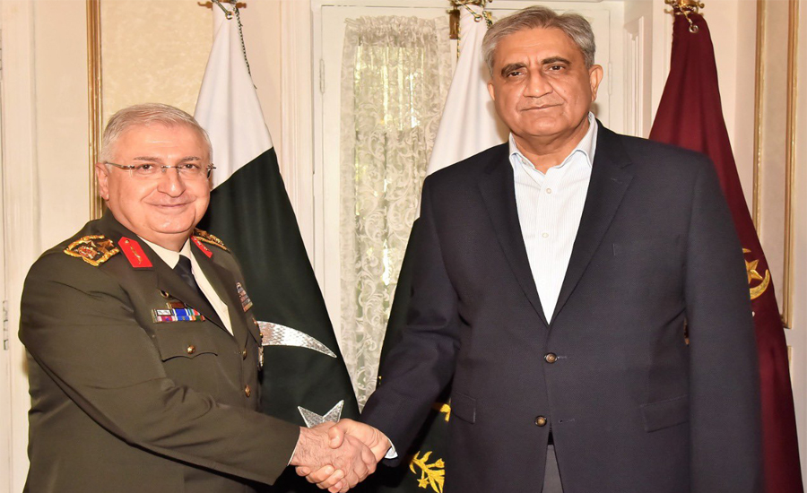 Turkish, Armed, Forces, commander, COAS Qamar Bajwa