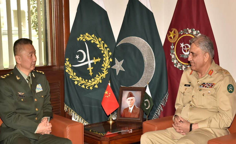 Chinese Army, Deputy Commander, Lt Gen You Haitao, COAS, discuss, army-to-army, staff talks