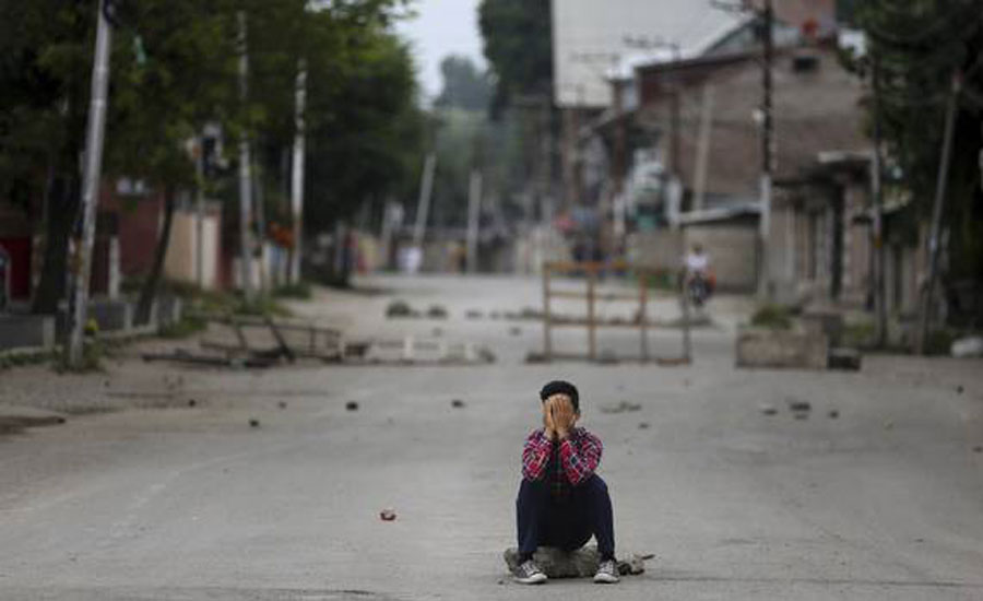 Uncertainty IoK Indian Occupied Kashmir 93rd day indian military lockdown