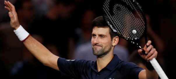 Djokovic Dimitrov Nadal Paris Reuters Novak Djokovic Paris Masters final