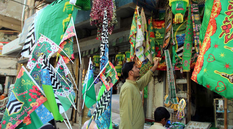 Preparations to celebrate Eid Milad-un-Nabi (SAW) in full swing