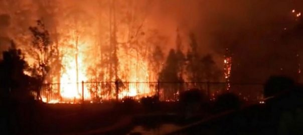 firefighters Australian battle widespread blazes worse condition