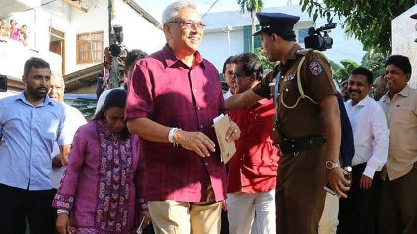 Gotabaya Gotabaya Rajapaksa victory Sri lanka presidential election